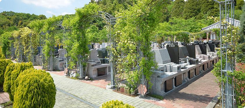 現地の風景:墓