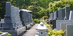 受付中の寺院墓地